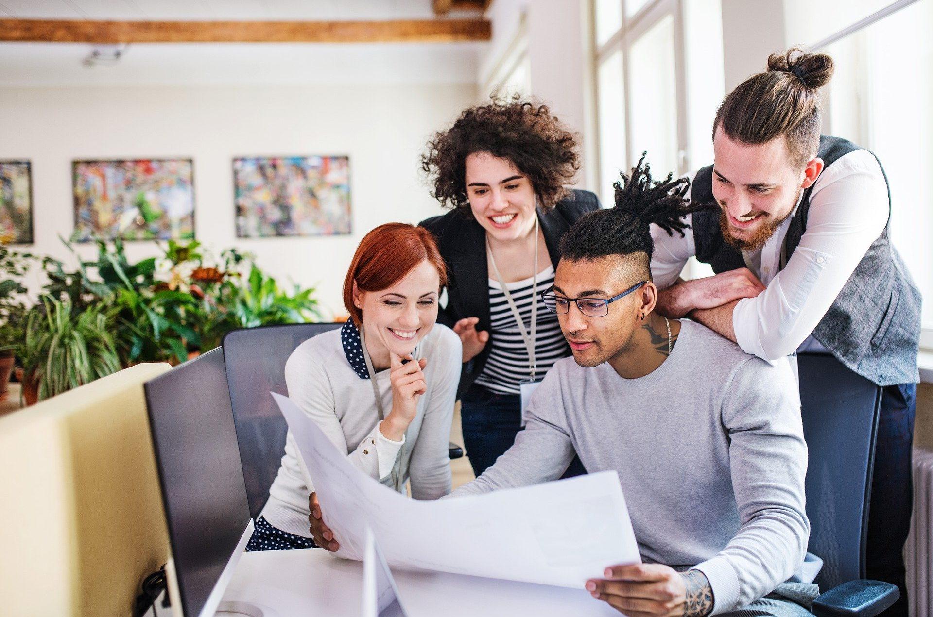 Корпоративный сайт и стиль офиса