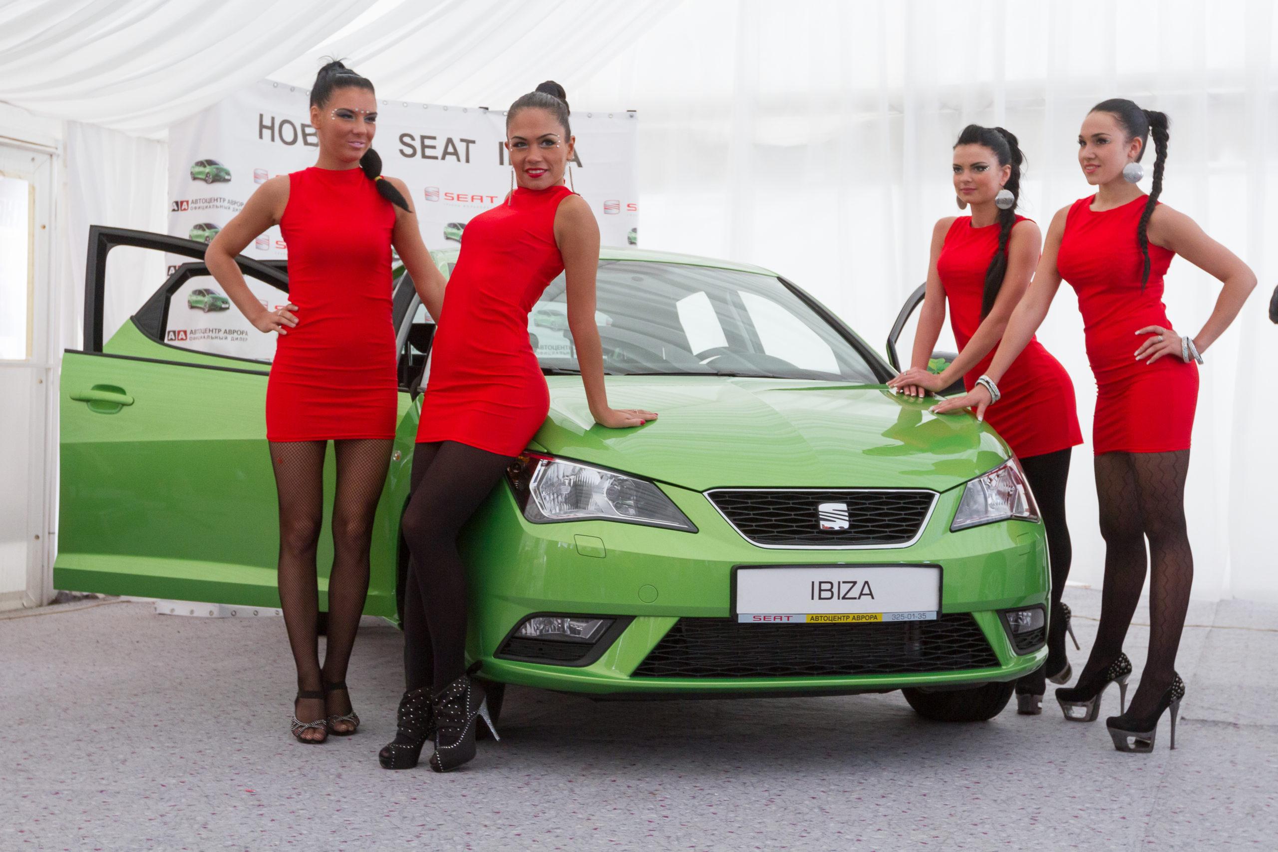 Презентация и тест-драйв автомобиля SEAT Ibiza