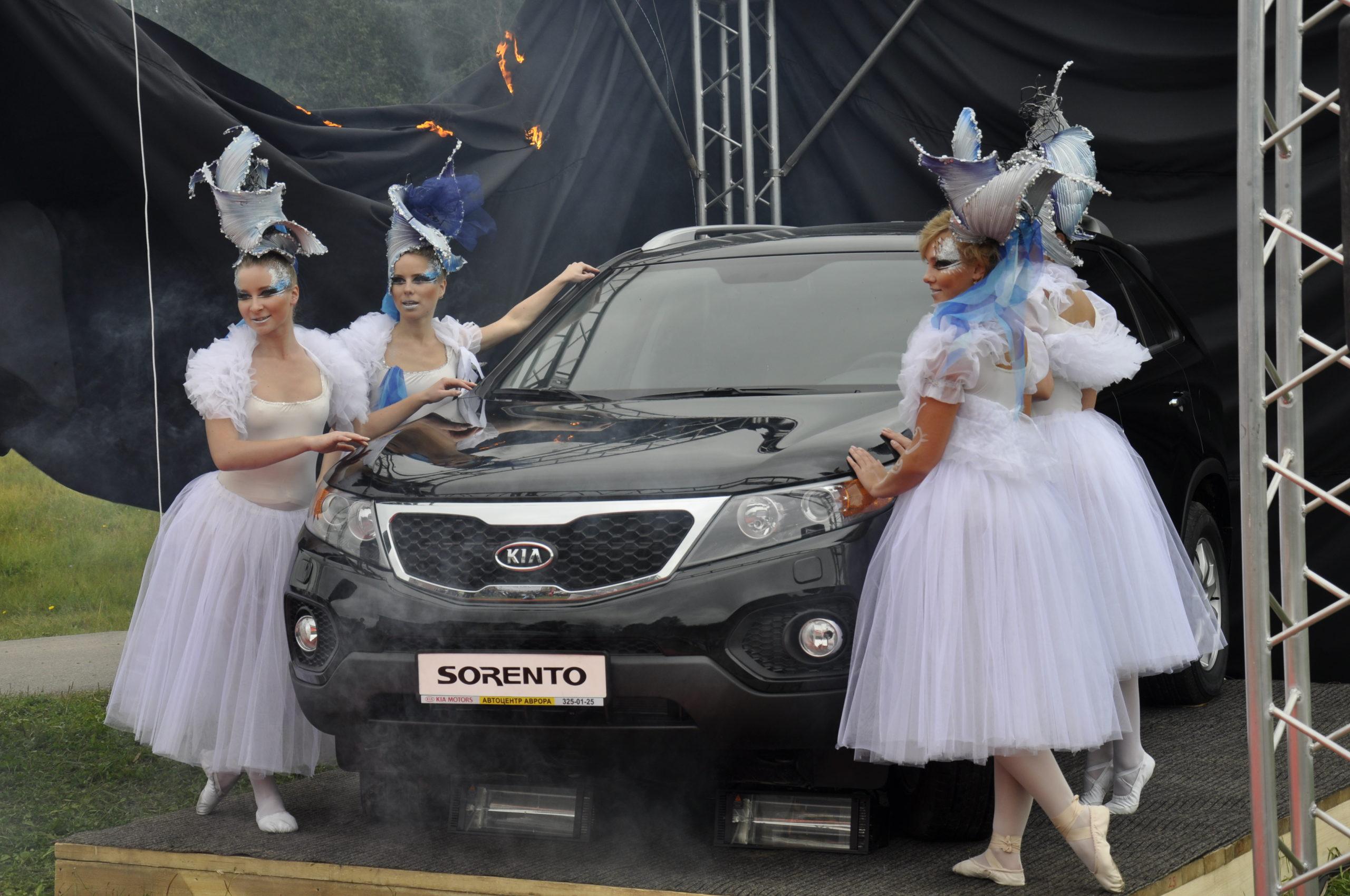 Презентация автомобиля - Новый Киа Соренто
