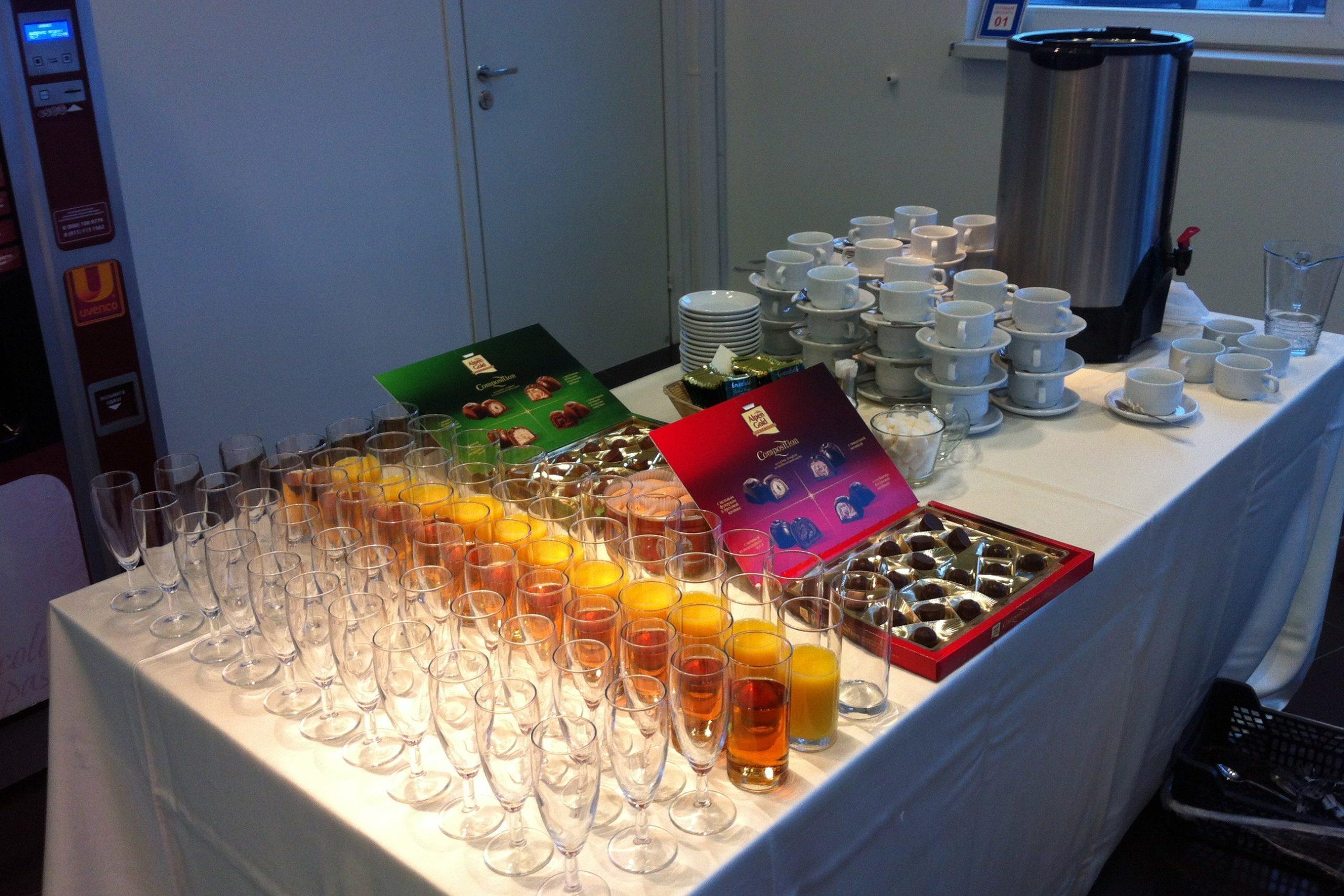 Органзация семинаров и кофе-брейков
